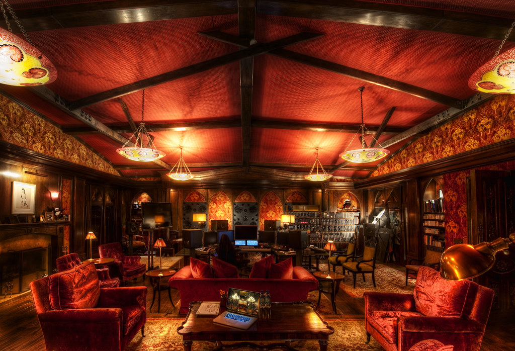 The secret lair of Hans Zimmer, from where he inspires the world