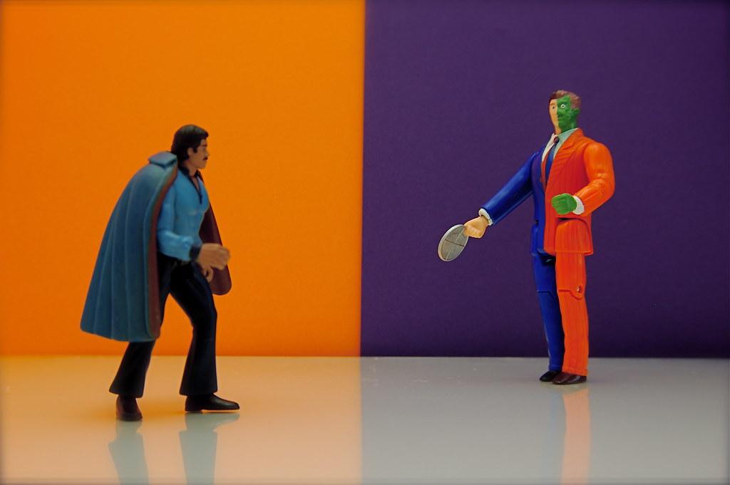 Lando Calrissian vs. Two-Face (31/365)