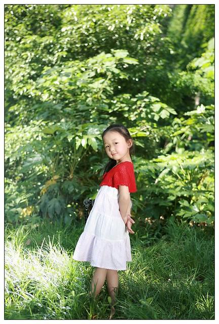 五岁无敌小美女