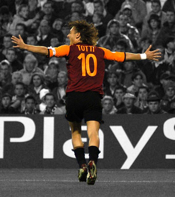 GREAT FRANCESCO TOTTI :: THE KING OF ROME IS NOT DEAD :: NO TOTTI    NO PARTY