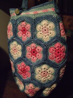 Hexagon bag finished!