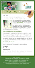 Email Newsletter Template (2006)