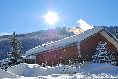 Bardonecchia - controluce sulla neve