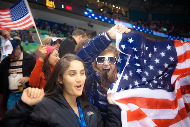 USA vs Norway - Mens Hockey - Canada Hockey Place - Vancouver British Columbia