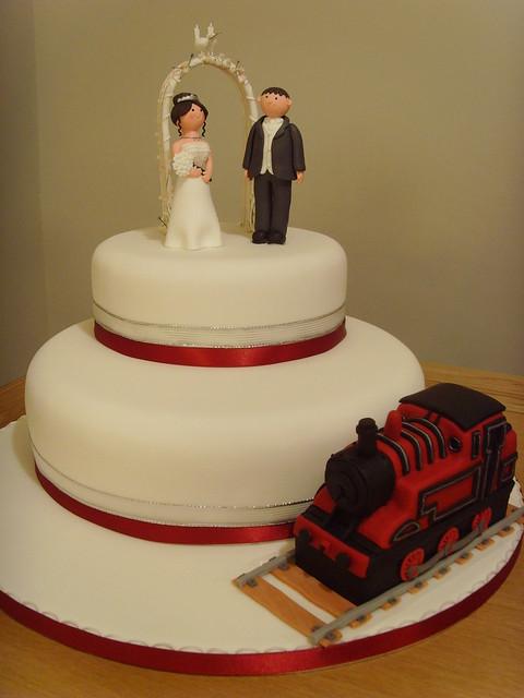 Steam Train Wedding Cake Flickr Photo Sharing