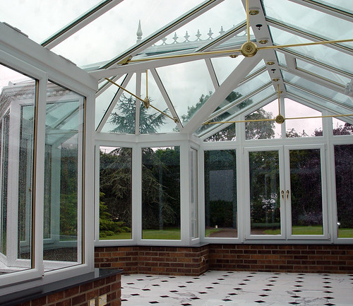 Hipped Glass Roof