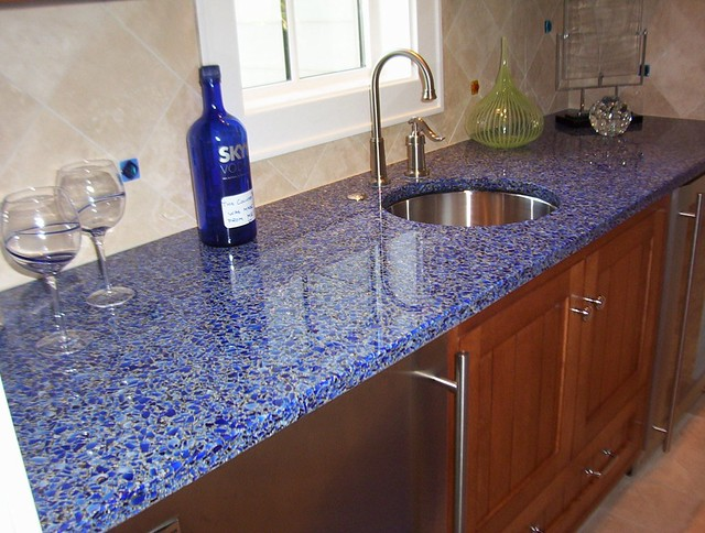 Countertop Alternatives : Vetrazzo alternative to granite countertops (135) Flickr - Photo ...