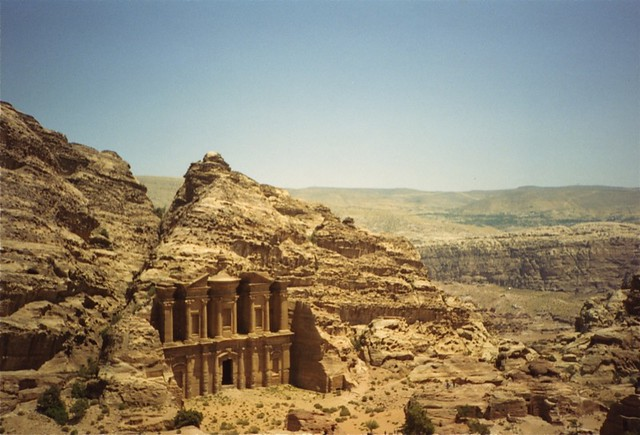 The Monastery, Petra, Jordan by CC user savingfutures on Flickr