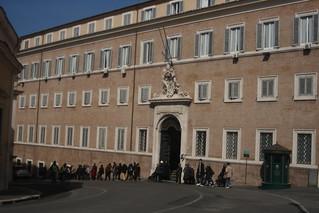 Imagen de Palacio del Quirinal. italy rome royal palace publicbuilding palazzodelquirinale carlomaderno domenicofontana osm:way=27734766 wikipedia:en=quirinalpalace