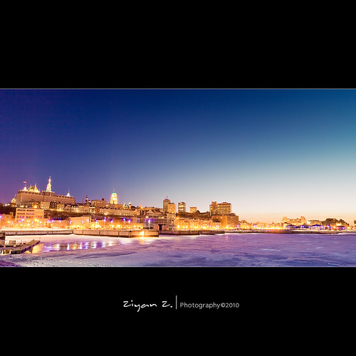 city blue winter canada night canon dawn quebec sigma 5d 1224mm flickrdiamond