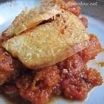 Italienischer Hähnchen & Birnenkürbis Pie