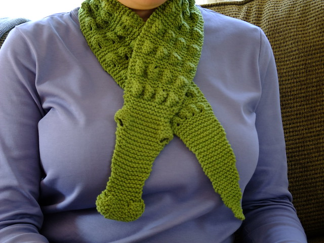 Knitting Pattern Alligator Scarf : Baby Alligator Scarf Flickr - Photo Sharing!