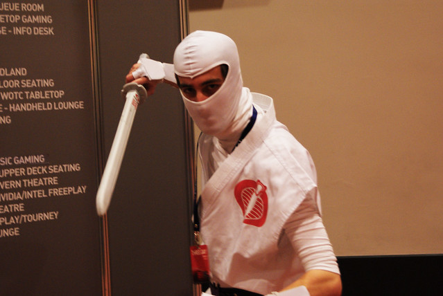 Header of American Ninja