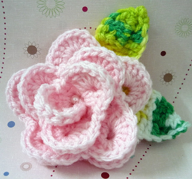 Crochet Rose Hair Clip Pattern : Recent Photos The Commons Getty Collection Galleries World Map App ...