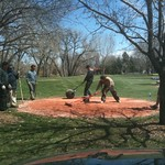 fixin up the middle placement on hole #5