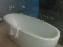 Bathtub at Mandarin Oriental