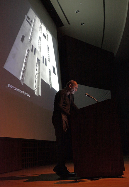 Koolhaas lectures at Kennedy Hall