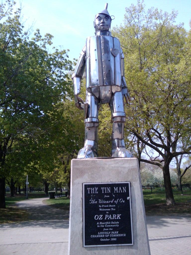 The Tin Man of Oz Park