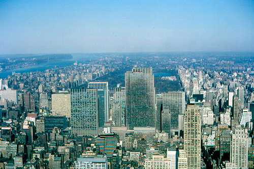 North from Empire State Building (1965)