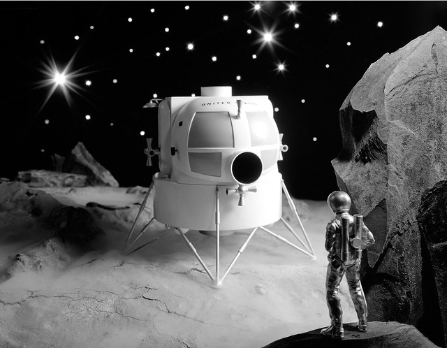 1962 ... early lunar lander design by Grumman | Flickr ...