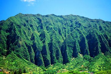 Hawaii de Lost - Ko'olau mountains