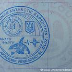 Antarctica Passport Stamp - Vernadsky Station, Antarctica