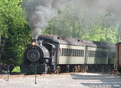 Steaming into Thomaston!