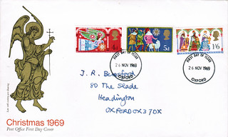 26-Nov-1969 UK First Day Cover