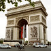 Paris, France, The Arc De Triomphe