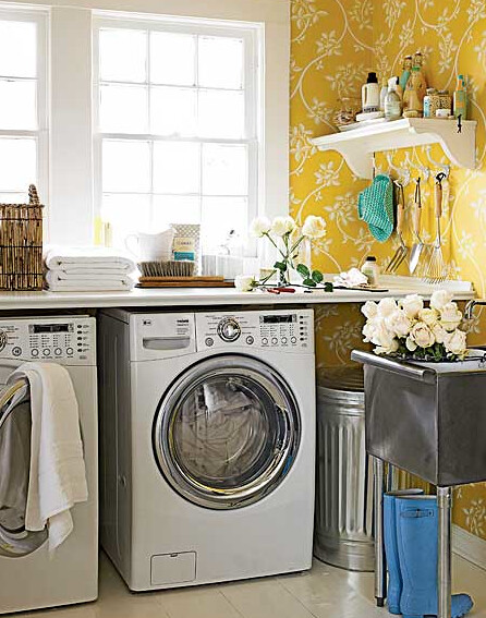 Small Laundry Rooms With Top Loaders