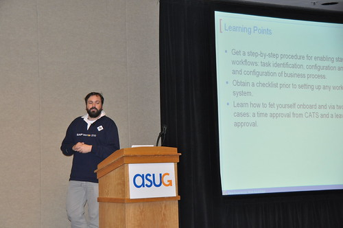 #ASUG Workflow session