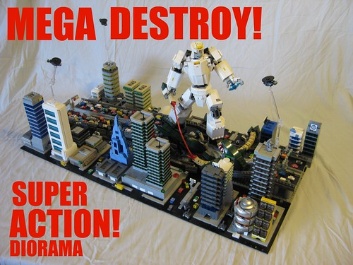 MEGA Destroy Super Action DIo!