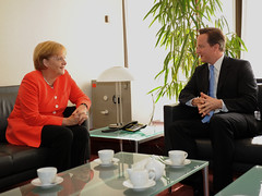 PM meets with Angela Merkel