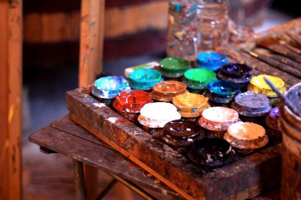 Clos Pegase Winery - Painter