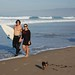 TCB's Chris and Kimmy surf before the snow hits - 3