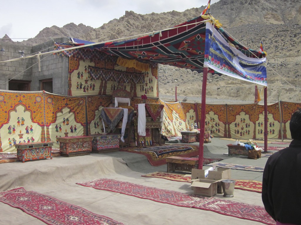 On a research trip to Tajikistan and India this summer, Panthera's Snow Leopard Program Executive Director, Dr. Tom McCarthy, happened upon a religious festival as he emerged from a trek in the mountains while visiting India's Ulley Village. Tom came upon the festival just minutes before the arrival of the guest of honor, one of India's highest-ranking Lamas, as the Lama passed through the city of Ladakh, stopping at every village along the way.   Read more about Panthera's 'Trekking with Tom' blog series to see videos, photos and stories from Tom's trip to Tajikistan and India at www.panthera.org/trekking-with-tom.  Learn about Panthera's Snow Leopard Program at www.panthera.org/programs/snow-leopard/snow-leopard-program  Learn about Panthera's Snow Leopard Program Executive Director, Dr. Tom McCarthy, at www.panthera.org/people/tom-mccarthy-phd  © Tom McCarthy/Panthera