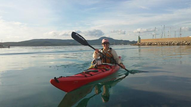 Stil paddling