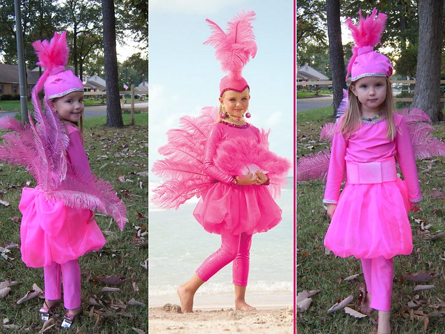 Flamingo Halloween Costume Pattern http://www.flickr.com/photos/27858004@N05/5132671696/