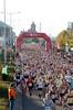 Thousands of runners head down Lloyd George Avenue