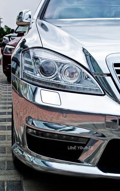 Chrome s63 AMG
