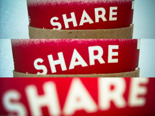Share content of Facebook