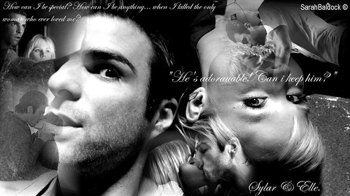 Heroes; Sylar And Elle.
