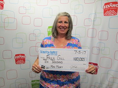 Paula Gill - $10,000 - Max Money - Malad City - KJ's Super Store