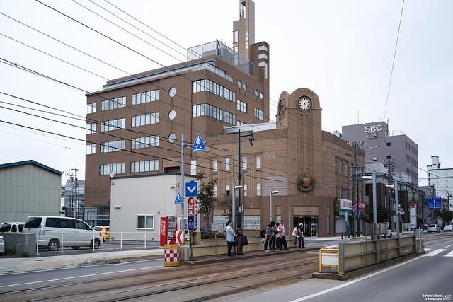 函館路面電車 末廣町站