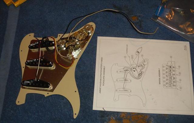 35717741205_9846c85550_b rewiring a squier� stratocaster� with fender� pickups amateur fender tex mex pickup wiring diagram at mifinder.co