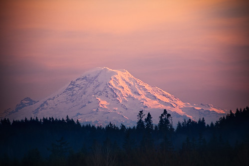 Mt. Rainier - a View from Bainbridge Island