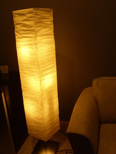 Ikea Alang Floor Lamp Nickel Plated Gray ~ Floor lamp from IKEA  Flickr  Photo Sharing!