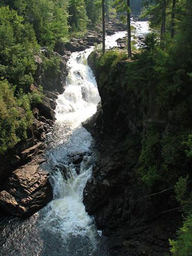 Chutes de Lanaudière (Québec, Canada)