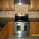 Kitchen Granite with Tile Backsplash | Flickr - Photo Sharing!