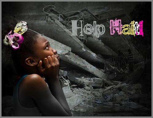 Help Haiti get better - poster - AID